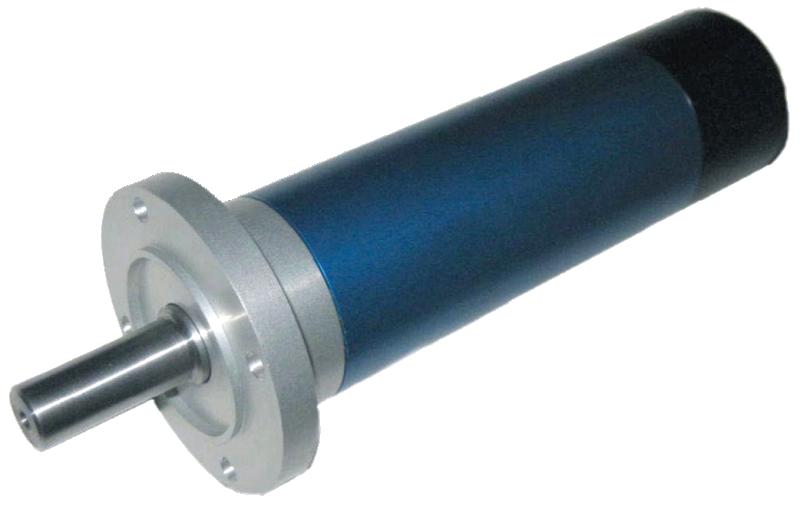 Pneumatické lamelové motory RD, LRD, VRD
