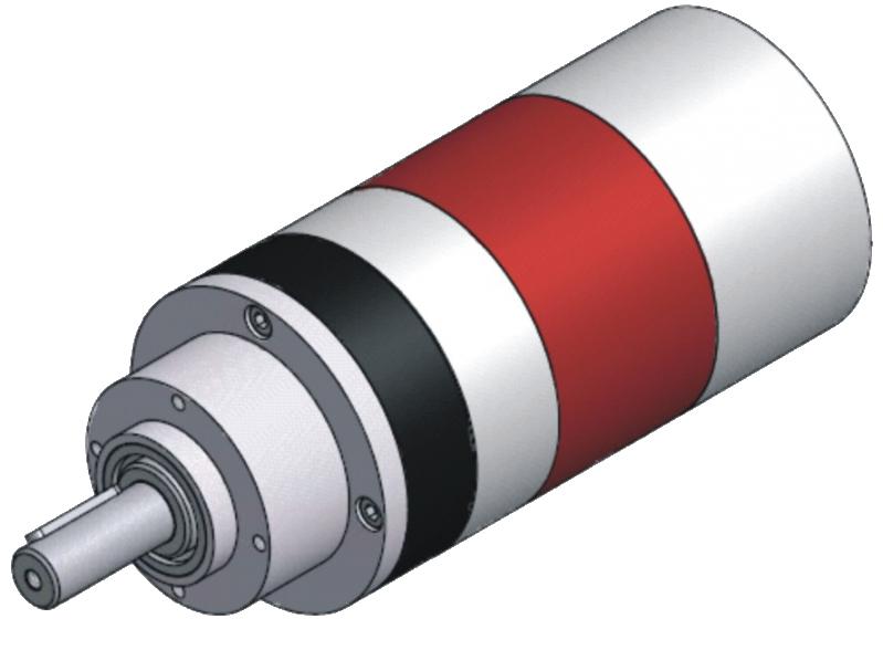 Pneumatické lamelové motory LRD