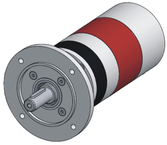 Pneumatické lamelové motory VRD