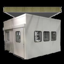 Ochrana proti hluku: zvukotěsné kabiny