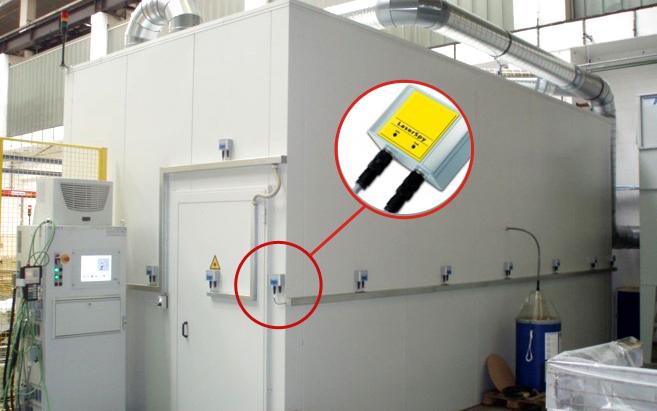 Aktivní laserová kabina s Laser Spy
