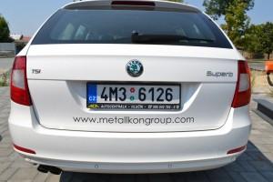 Firemní auta Metallkon