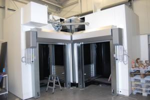 Pasivní laserová kabina
